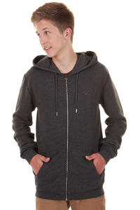Cleptomanicx Ligull 3000 Zip-Hoodie (heather black)