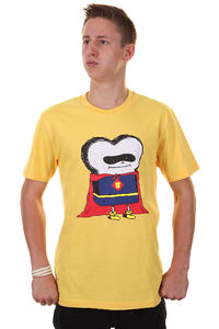 Cleptomanicx Superman Toast T-Shirt (samoa yellow)