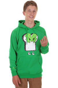Cleptomanicx Marsimoto Hoodie (jolly green)