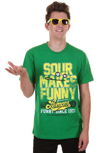 Cleptomanicx Sour T-Shirt (jolly green)