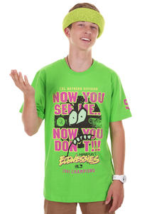 Cleptomanicx Now You Don't T-Shirt (green flash)