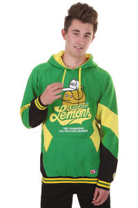 Cleptomanicx Lemons Hoodie (jolly green)