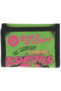 Cleptomanicx Elbnessies Wallet (green flash)