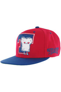 Cleptomanicx The Toast Snapback Cap (red)
