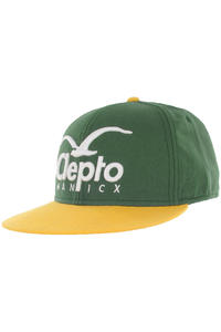 Cleptomanicx Super CI Snapback Cap (spruce green)