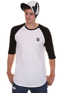 Volcom Label Baseball 3/4 Longsleeve (black)