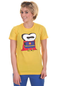 Cleptomanicx Superman Toast T-Shirt girls (samoa yellow)