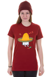 Cleptomanicx Sombrero Toast T-Shirt girls (dried tomato)