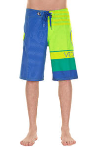 Volcom Euro Stripe Boardshorts (electric green)