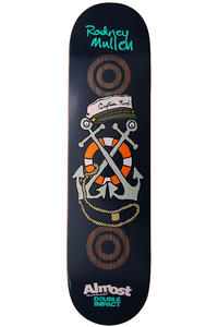 "Almost Mullen Club Patch Double Impact 7.75"" Deck (blue)"