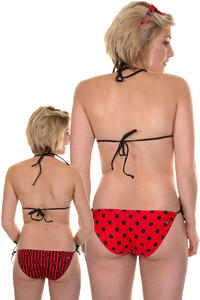 Volcom Dada Dot Bikini Hose reversible  girls (red)
