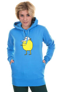 Cleptomanicx Zitrone Hoodie girls (fly blue)