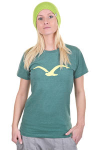 Cleptomanicx Möwe T-Shirt girls (heather spruce green)