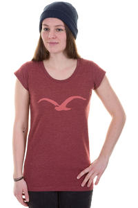 Cleptomanicx Mwe Scoop T-Shirt girls (heather dried tomato)