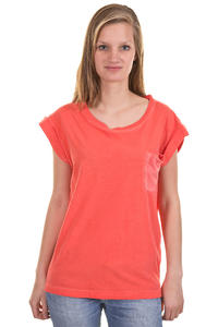 Cleptomanicx Voyage 2 T-Shirt girls (hot coral)
