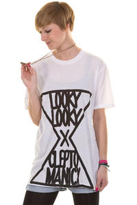 Cleptomanicx Loopto T-Shirt girls (white)
