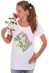 Cleptomanicx Palma De Clepto T-Shirt girls (white)