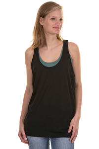 Cleptomanicx Twotom Tank-Top girls (black)