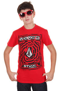 Volcom Splice T-Shirt kids (drip red)