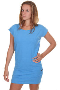 Cleptomanicx Organicx Melange Kleid girls (heather fly blue)