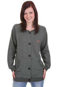 Cleptomanicx Ahso Cardigan girls (heather dark grey)
