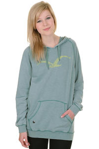 Cleptomanicx Kosmo Hoodie girls (heather spruce green)