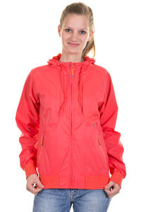 Cleptomanicx Toemy Jacket girls (hot coral)