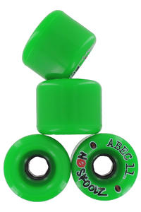 ABEC 11 No Skoolz 65mm 81a Rollen 4er Pack  (green)