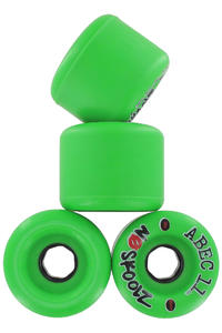ABEC 11 No Skoolz 65mm 96a Wheel 4er Pack  (green)