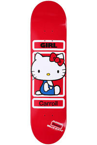 "Girl Carroll Sanrio 7.875"" Deck (red)"