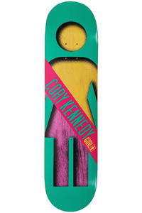 Girl Kennedy Half &amp; Half 8&quot; Deck (turquoise)