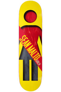 Girl Malto Half &amp; Half 8.125&quot; Deck (yellow)