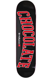 "Chocolate Anderson League 8.125"" Deck (black red)"