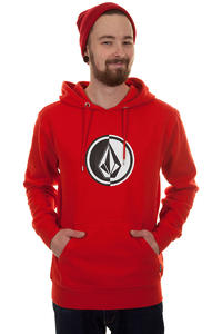 Volcom Circle Stone Hoodie (drip red)