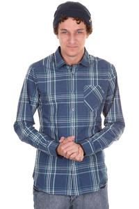 Volcom Why Factor Plaid Shirt (navy paint)