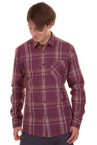 Volcom Why Factor Plaid Shirt (plum)