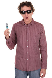 Volcom Why Factor Stripes Shirt (plum)