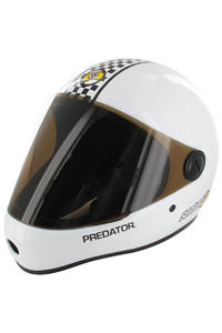Sector 9 Predator Downhill Helm (white)