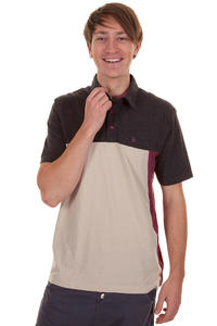 Volcom Black Out Polo-Shirt (plum)