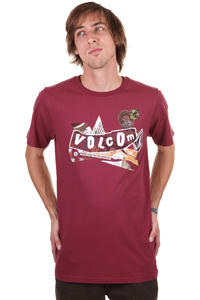 Volcom Pistol Refuge T-Shirt (plum)