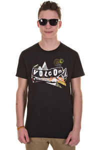 Volcom Pistol Refuge T-Shirt (black)