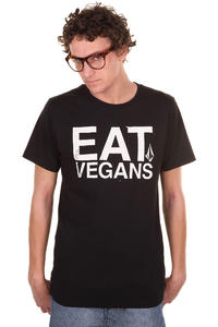 Volcom Eat Vegans T-Shirt (black)