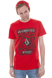 Volcom Splice T-Shirt (drip red)