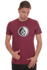 Volcom Circle Stone T-Shirt (plum)