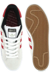 adidas Skateboarding Campus Vulc Schuh (white university red)