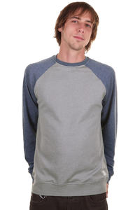 Volcom Timesoft Ultra Slim Sweatshirt (air force blue combo)