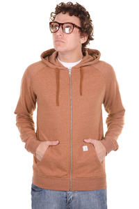 Volcom Timesoft Ultra Slim Zip-Hoodie (copper)