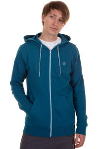Volcom Icon Zip-Hoodie (tidal blue)