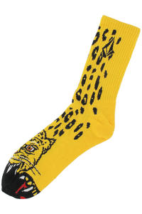Volcom Jimbo Philipps Puppet Socks ( yellow)