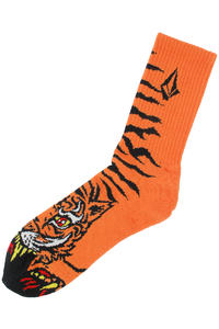 Volcom Jimbo Philipps Puppet Socks (orange)